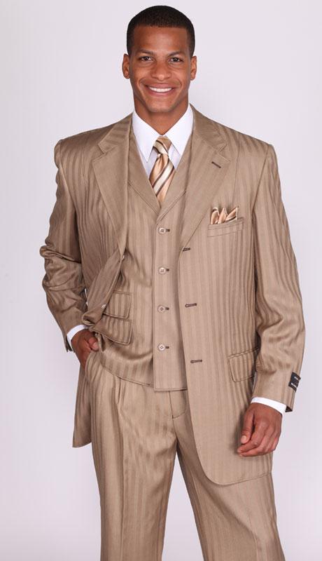 men's dress suit, men's tan suit, 5267v