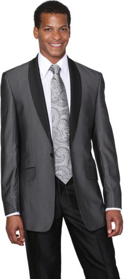 Men's shawl collar suit, men's church suit, 5601