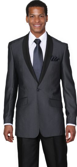 men's navy shawl collar suit, Men's navy church suit, 5601.