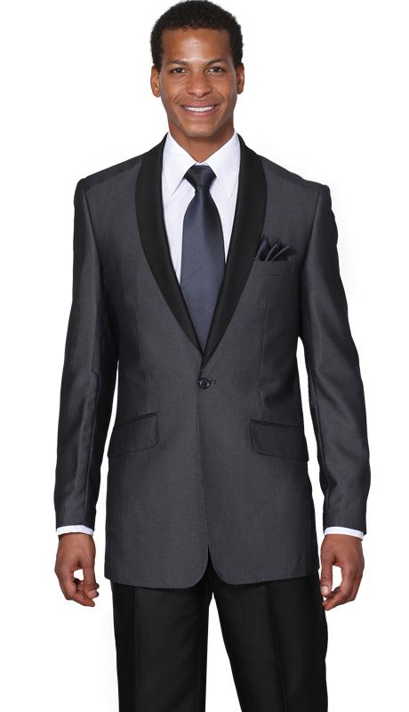men's navy shawl collar suit, Men's navy church suit, 5601.