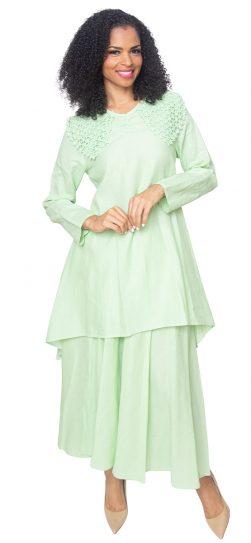 diana, 8218, sage linen dress