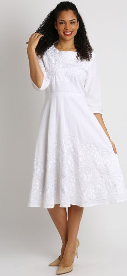 diana, 8219, white linen dress