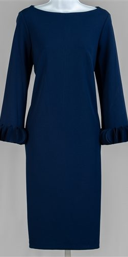allen kay, navy dress, 785850