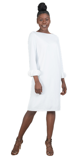 allen kay, 785850, white dress