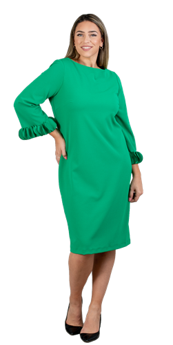 allen kay, 785850, green dress