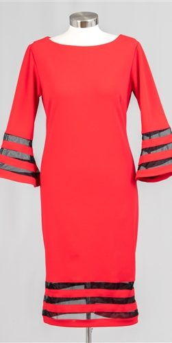 allen kay, red dress, 785841