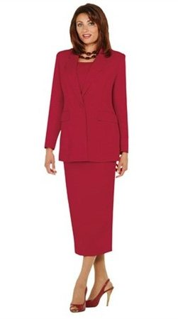 benmarc, usher suit, red, size 16, 2295