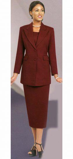 benmarc, 2299, burgundy usher suit