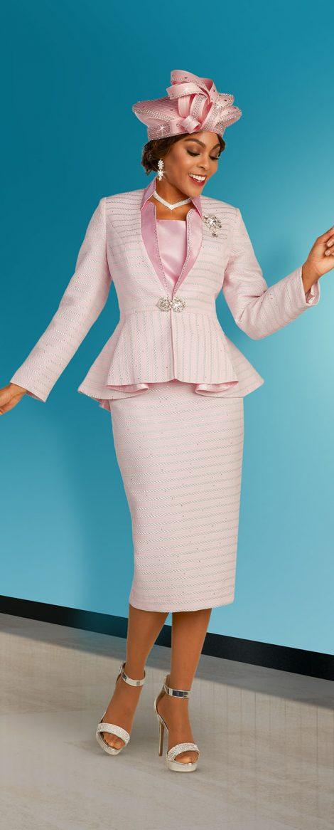benmarc, 48310, spring pink skirt suit