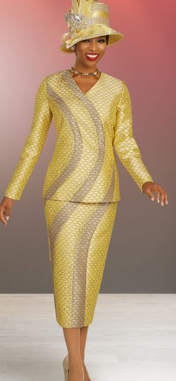 benmarc, skirt suit 48323, banana skirt suit