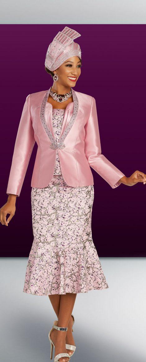benmarc, skirt suit, 48330, rose color skirt suit