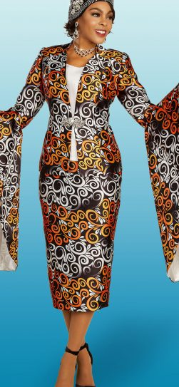 Church Suit, Skirt Suit, Suit & Hat, Women's Suits, Print Suit