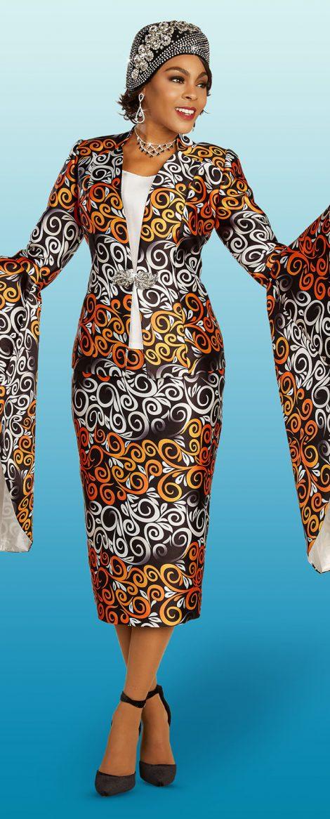 Church Suit, Skirt Suit, Suit & Hat, Women's Suits, Print Suit