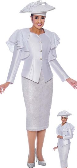 Dorinda Clark Cole, DCC9002, white church suit