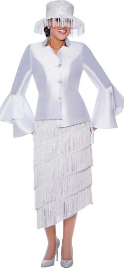 Dorinda Clark Cole, stunning church suit DCC9032