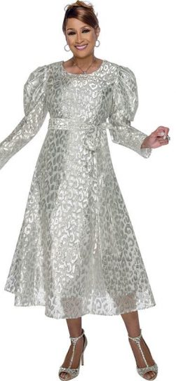 dorinda clark cole, dcc2891, silver dress