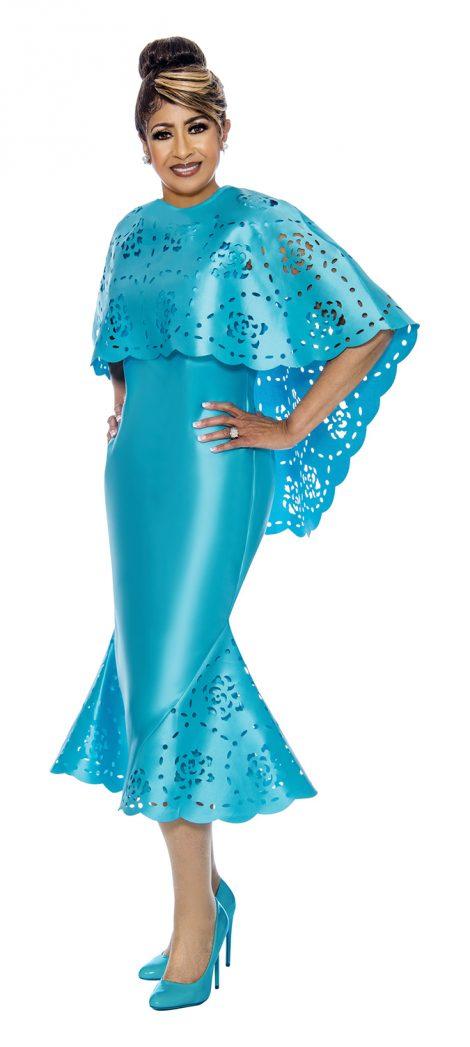dorinda clark-cole, turquoise dress, DCC1992