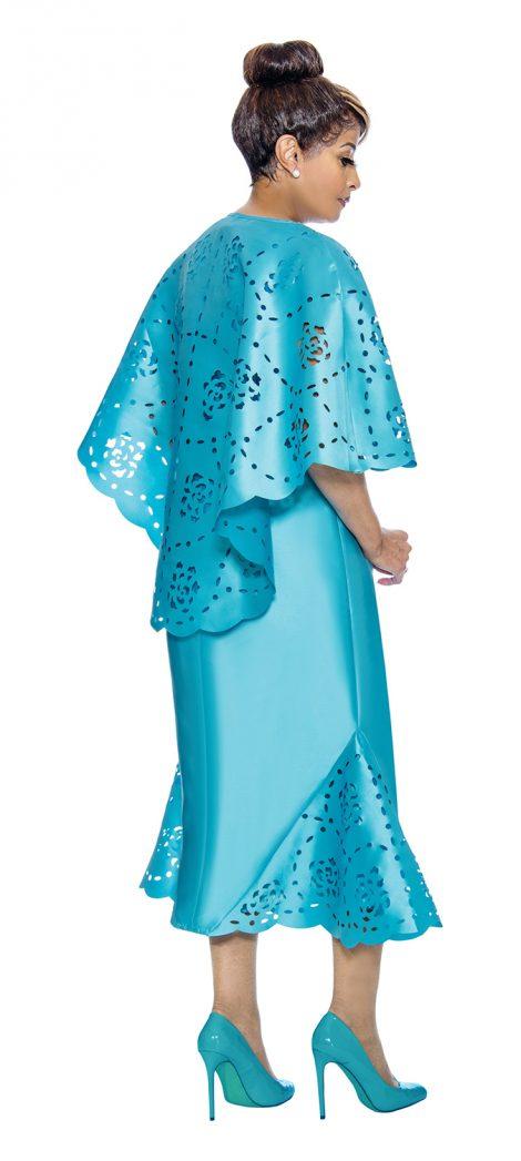 dorinda clark-cole, dcc1992, turquoise church dress