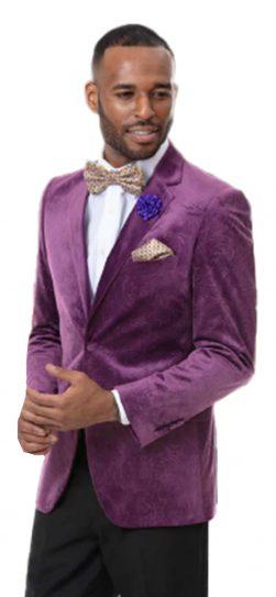 Ej Samuel, J37 Blazer, mens lavender blazer