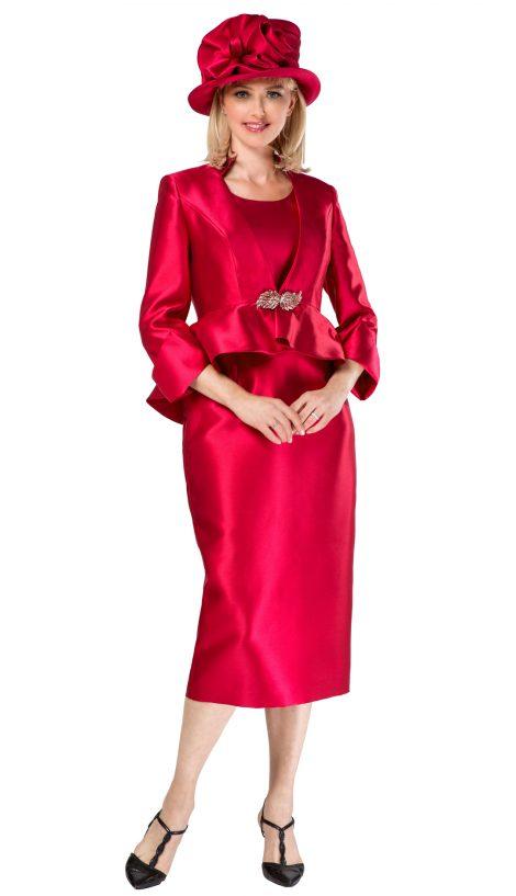 giovanna, g1085, cranberry skirt suit