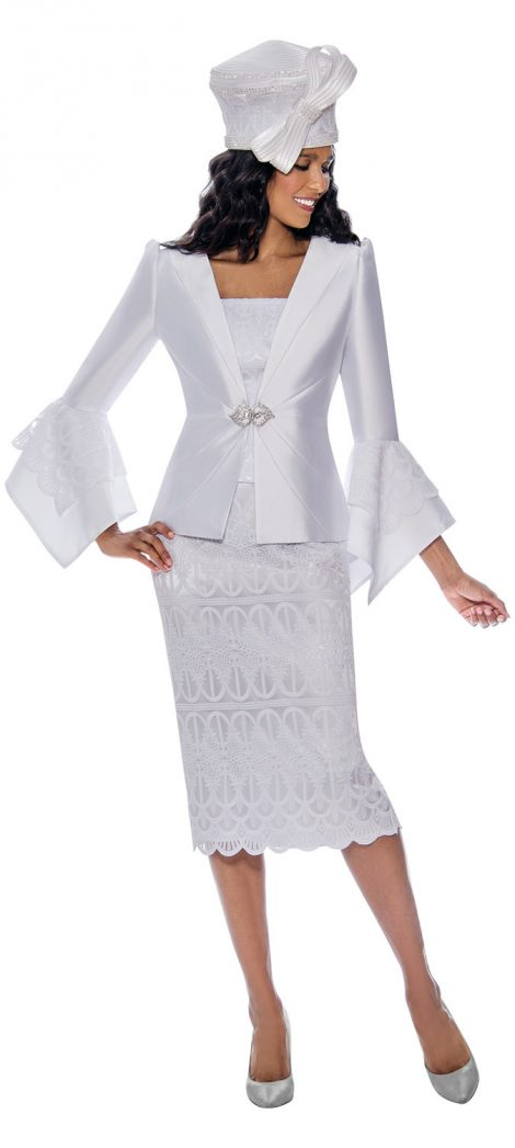 gmi, g8272, white church suit