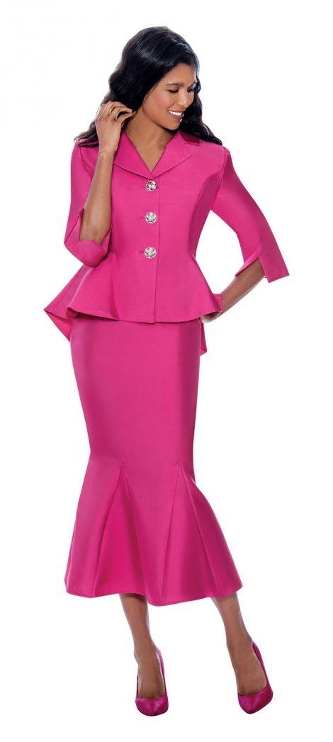 gmi, g8342, fuchsia skirt suit