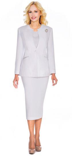 Giovanna,0708, white church suit