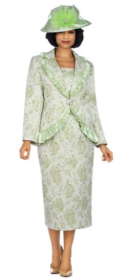giovanna, 0937, lime skirt suit