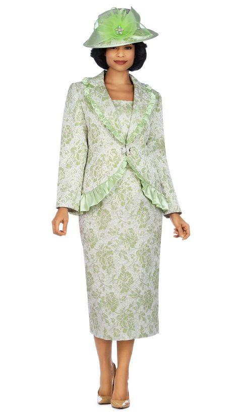 giovanna, 0937, lime skirt suit