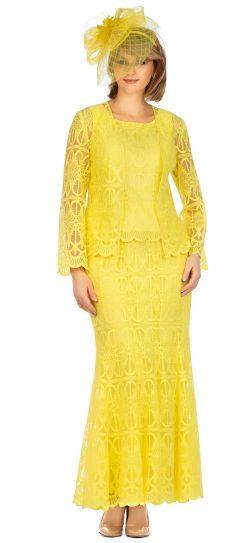giovanna, 0946, yellow lace dress