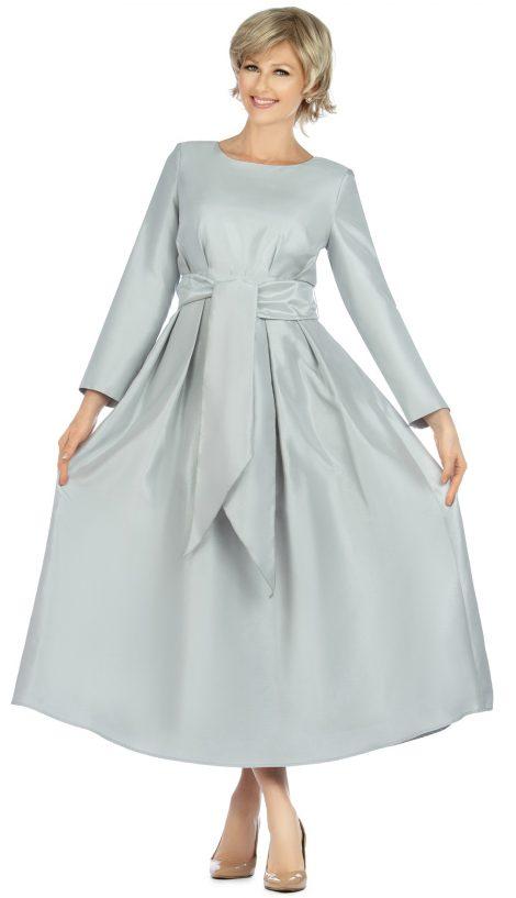 giovanna, d1508, silver wrap dress