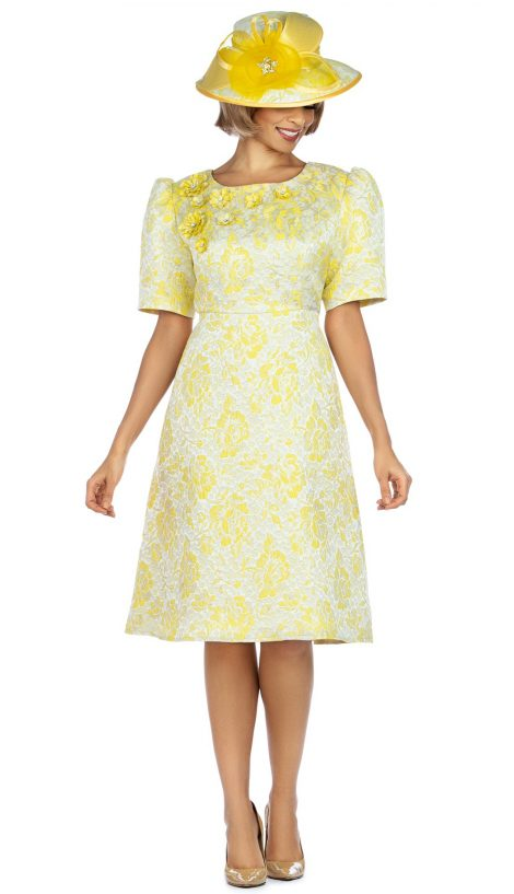Giovanna, D1524, yellow dress,