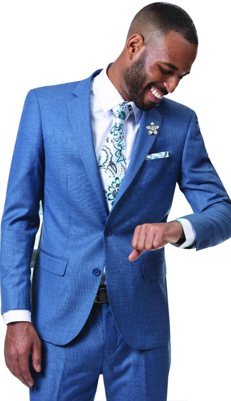 EJ Samuel, Men's Suit, 2 Piece Suit, Church Suit