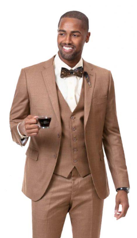 EJ Samuel, 3 Piece Suit, Church Suit, Men's Suits