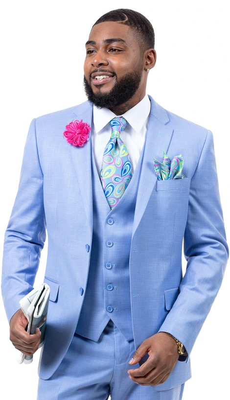 EJ Samuel, Men's Suit, 3 Piece Suit, Church Suits