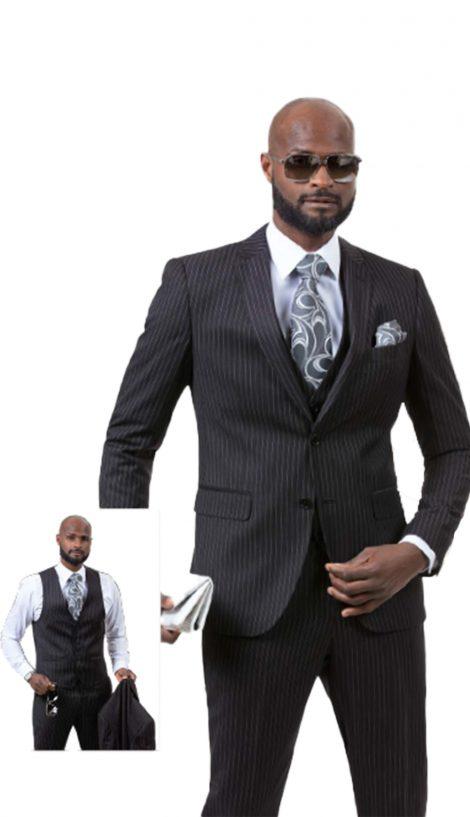 EJ Samuel, Men's Suit, 3 Piece Suit, Church Suit