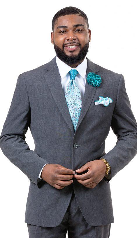 EJ Samuel, Men's Suit, 2 Piece Suit