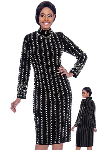 Susanna, black dress