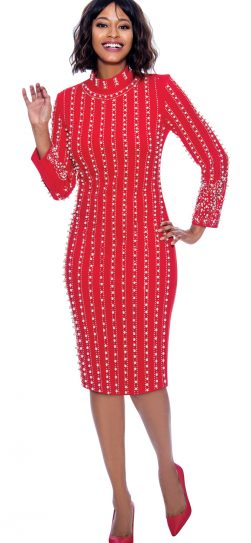 susanna, 3924, dressy dress red