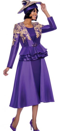 susanna, 3959, dressy purple skirt suit