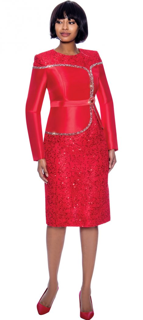 susanna, 3965, dressy Red