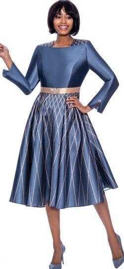 susanna, 3974, dressy Steel Blue