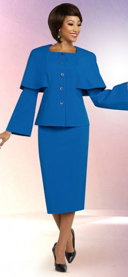benmarc executive,11807, royal blue skirt suit