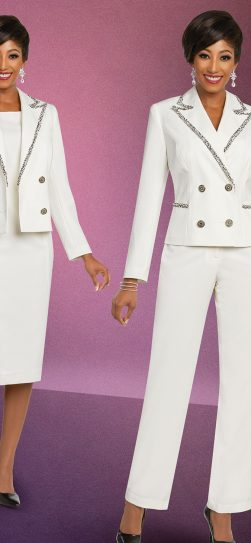 benmarc executive, ivory pant suit
