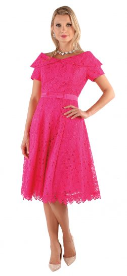 chancele, 9544, fuchsia dress