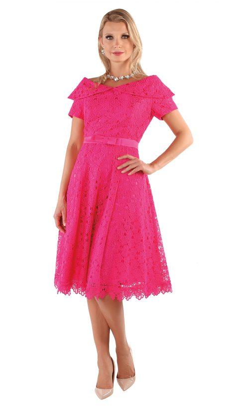 chancele, 9544, fuchsia dress