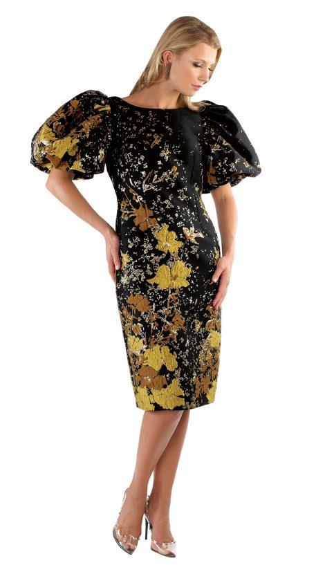 chancele, 9628, print dress