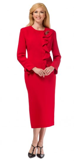 giovanna,0931, red church suit
