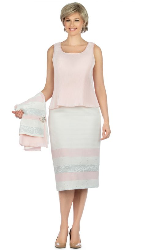giovanna, g1125, pink-white skirt suit