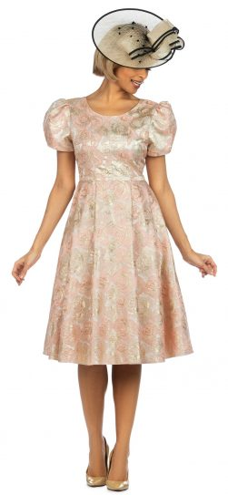 giovanna, d1328, pink-gold dress